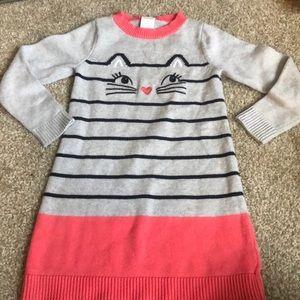 Kitty cat sweater dress